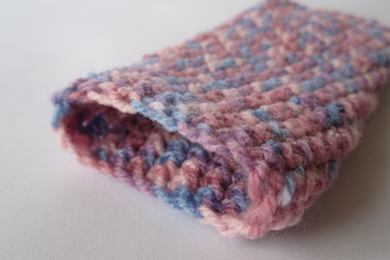 Crochet Phone Case - Pink Multi