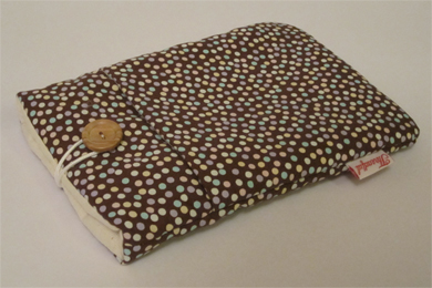eReader Case - Brown Small Spotty