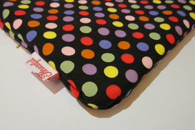 iPad Case - Black Dotted