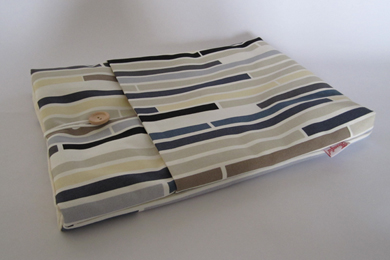 "13"" MacBook Case - Multi Stripe Blue"