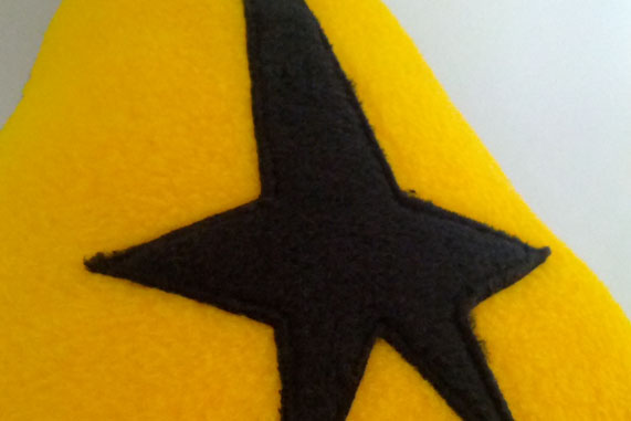 Star Trek Logo Themed Cushion